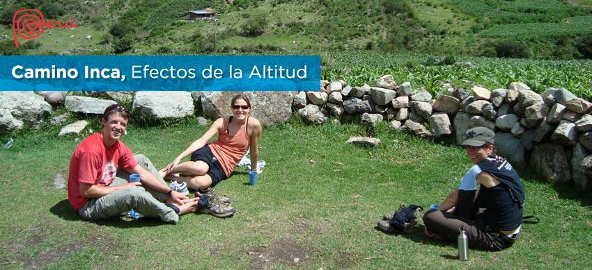 altitud camino inca
