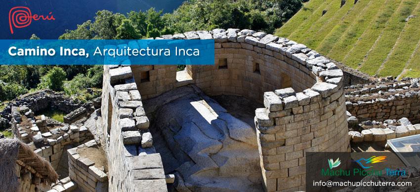 arquitectura inca en el camino inca