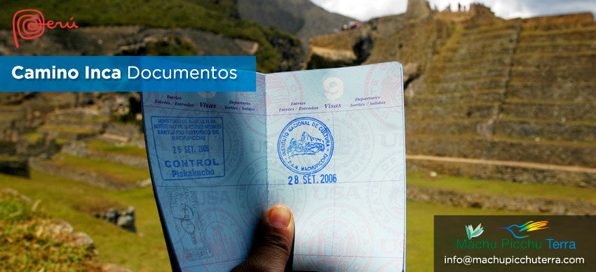 documentos para el camino inca