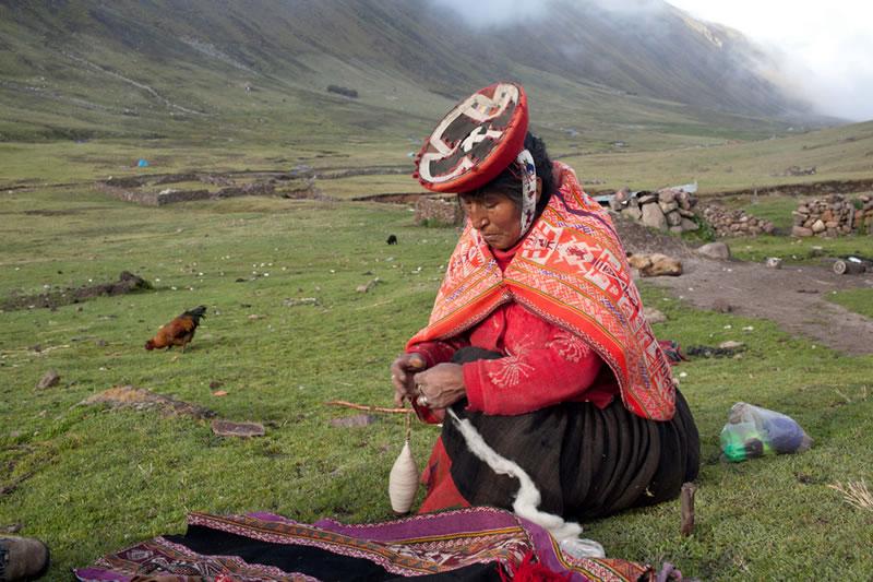 costumbres camino inca Machu Picchu