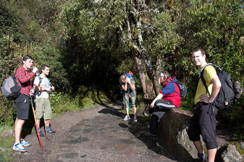 dificultad camino inca Machu Picchu