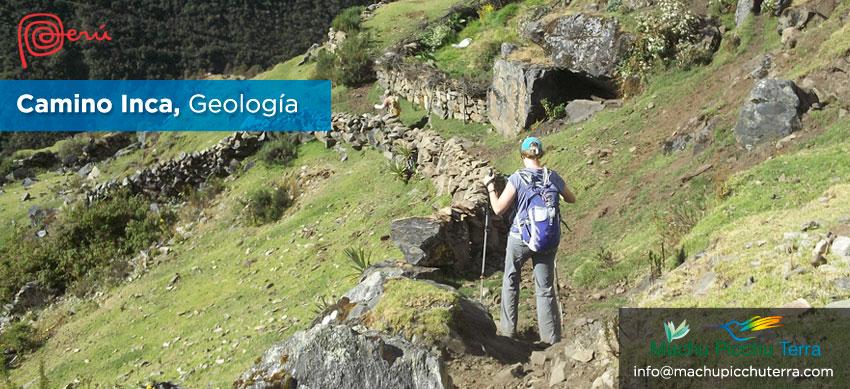 geología del camino inca