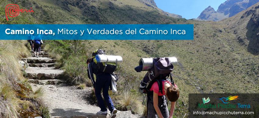mitos y verades del camino inca