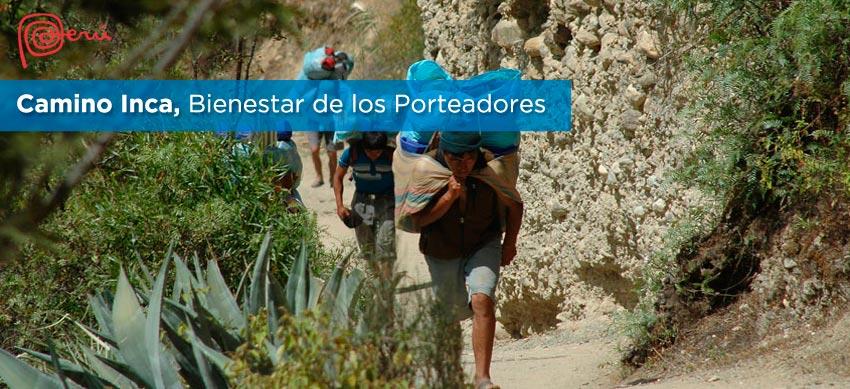 porteadores camino inca