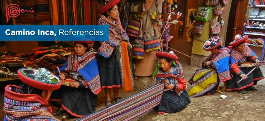 referencias camino inca