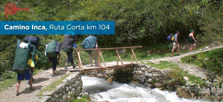 ruta corta camino inca