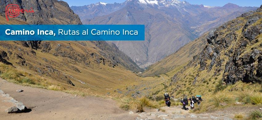 rutas camino inca machu picchu