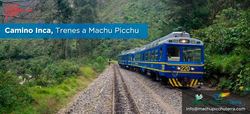 trenes camino inca machu picchu