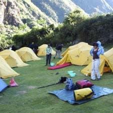 Equipo de Viaje en el Camino Inca