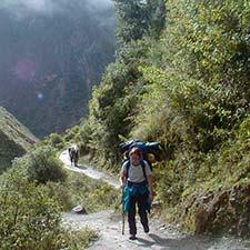 Disponibilidad en línea Camino Inca a Machu Picchu 2021