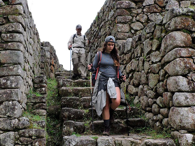 Difficulty of the Inca Trail